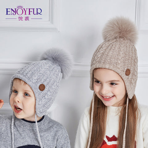 Boys' Baby Clothing Confident New Fashion Winter Warm Baby Hats Baby Cap For Children Winter Knitted Hat Kids Brand Boy Girls Hat Casquette Drop Shipping Cheap Sales Accessories