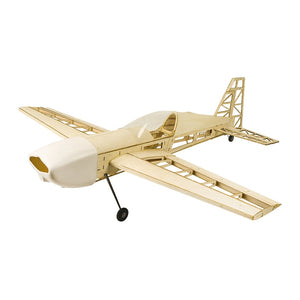 EXTRA 330 Upgraded 1000mm Wingspan Balsa Wood Building RC Airplane Kit - thefashionique