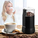 Easehold Electric Coffee Spice Grinder Maker with Stainless Steel Blades Beans Mill Herbs Nuts Moedor de Cafe Home Use - thefashionique