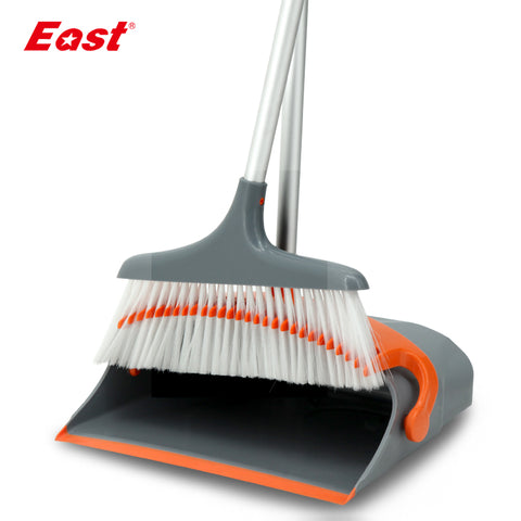 East New Arrivial Broom and Dustpan Set Foldable House Floor Cleaning Tools