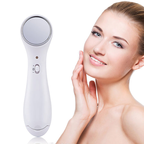 Electric Anti-aging High Frequency Ultrasonic Facial Beauty Device Ionic Wrinkle Removal Skin Lift Massager Face Skin Care Tools - thefashionique