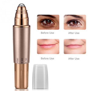 Electric Heated Eyes Lip Massager Roller Massager Wrinkles Removing Lifting Anti-aging Eye Massager - thefashionique
