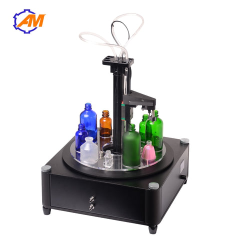 Electrical liquids filling machine MINI bottled water filler Digital Pump For perfume drink water milk olive oil 110V 220V - thefashionique