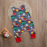 Emmababy 0-2T kids children Baby Boy Girl Clothes Novelty Cartoon character mix drawing Romper cool bebe roupas infantis menina - thefashionique