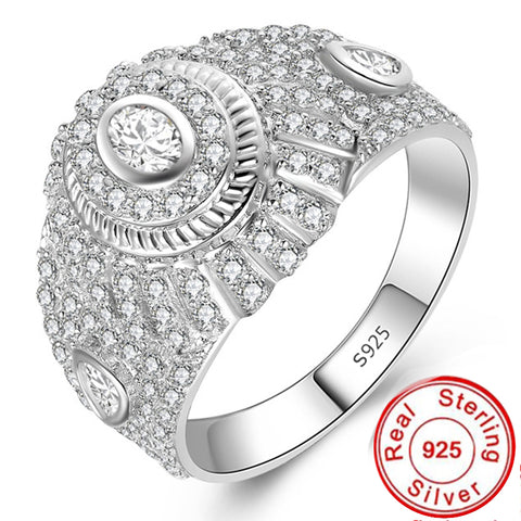 Expensive but way better quality 100% S925 Ring Sterling silver 925 diamond Peace Yo yo Check now  Exaggerated hiphop love - thefashionique
