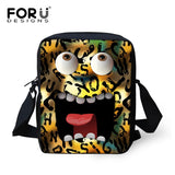FORUDESIGNS Children School Bags Cute Cartoon Emoji Printing Small Book Bag For Baby Boys Girls Fashion Kindergarten Kids Bags - thefashionique