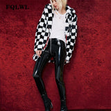 FQLWL Faux Pu Leather Pants Women Zipper Skinny High Waist Sexy Pants Female Black Red Pencil Pants Winter Autumn Women Trousers - thefashionique