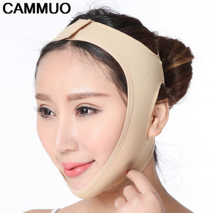 Facial Thin Face Mask Slimming Bandage Skin Care Belt Shape And Lift Reduce Double Chin Face Mask Face Thining Band - thefashionique