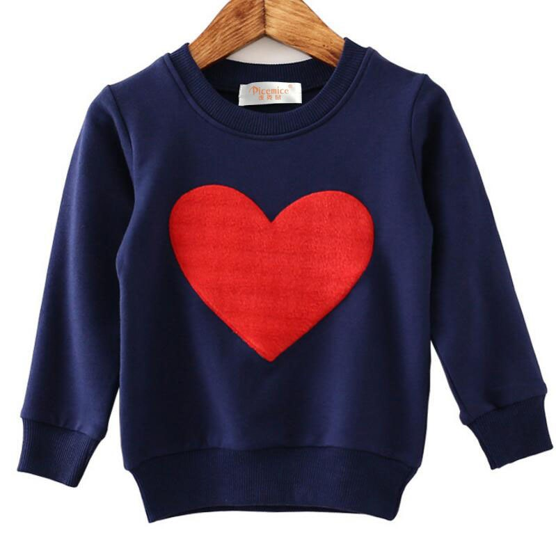 Family Clothing New 2018 Family Matching Outfits Mom Dad Baby Love Long-Sleeve Cotton T shirts spring autumn Family Clothes sets - thefashionique