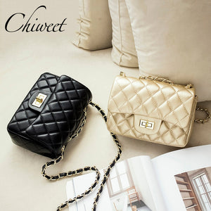 Famous Brand Leather Messenger Bags Luxury Shoulder Bag Quilted Designer Handbags Women Pink Bag Vintage Small Crossbody Bags - thefashionique