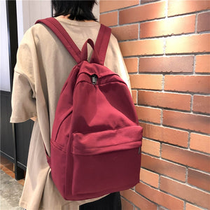 Fashion Backpack Casual Women Backpack Nylon Large Capacity School Bag For Teenage Girls Female Backapck Mochilas Schoolbags