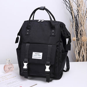 Fashion Backpack Nylon Women Backpacks New School Bag Teenager Big Backbag Mochilas Female Travel Bagpack for baby care Rucksack