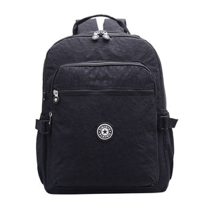 Fashion Big Capacity Nylon Backpack Student Backpacks Girls Boys Waterproof Shoulder Bag Men Female Bolso - thefashionique