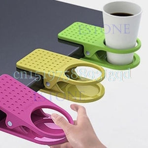 Fashion Cup Coffee Drink Holder Clip Use Home Office Desk Table - thefashionique