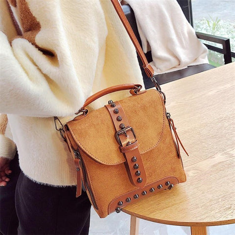 Fashion Multifunction Women Backpack England Style Shoulder Crossbody Bags For Women  Backpack Schoolbags For Teenager Girls - thefashionique