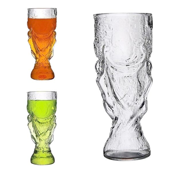 Fashion New Clear 300ml Creative Cup Design Glass Wine Beer Cup for Bar Party for VIP person - thefashionique