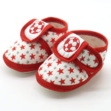 Fashion Newborn Infant Baby Star Girls Boys shoes Soft Sole Prewalker Warm Casual Flats Shoes hot sale - thefashionique