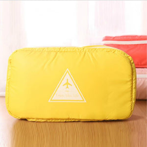 Fashion Portable cloth travel bag Multi function portable waterproof underwear bag for travel 21*26*27cm - thefashionique