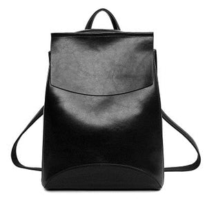 Fashion Women Backpack High Quality Youth Leather Backpacks for Teenage Girls Female School Shoulder Bag Bagpack mochila - thefashionique