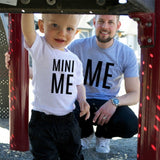 Father and Son Clothes Family TShirt Matching Clothes Outfits Baby Me and Mini Me Clothes T Shirt Clothing I Love Papa Top Tees - thefashionique