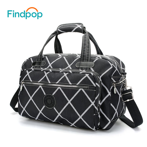 e7188ff05f Findpop Waterproof Hand Luggage Travel Duffle Bags 2018 New Design Large  Capacity Travel Bags Fashion Nylon