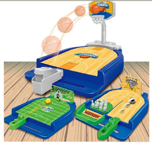 Finger catapult basketball football bowling soccer table minin desktop game one pcs interactive - thefashionique
