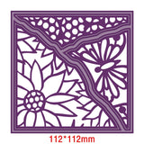 Flower Layer Square Frame Metal Cutting Dies Stencils For DIY Scrapbooking Decoration Embossing Supplier Handcraft Die Cut 2019 - thefashionique