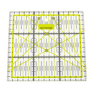 Foot Seam Ruler Quilting Patchwork DIY Hand Art Patchwork Ruler Crafts Sewing Needle Tools Scrapbook DIY Sewing Accessories - thefashionique