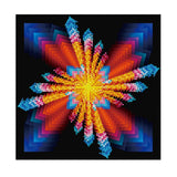 Frameless 5D Diamond Embroidery Painting Handmade Wall Decoration Cross Stitch Printing Craft Kits(Pattern 5)