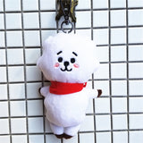 Frduntommy Love Yourself Kpop Bangtan boys BTS same Pillow plush Cushion warm bolster Q back lovely Doll TATA hot sale 2018 - thefashionique