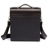 Free shipping 2017 Hot Men's Bags Briefcase casual men messenger bag genuine leather male shoulder bag 5size MBG5 - thefashionique