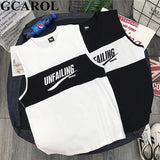 GCAROL 2019 Summer Letter Printed Tank Top Sleeveless Casual Girls Vest Basic White Black Streetwear Tops Camis - thefashionique