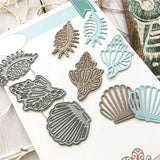 GJCrafts Ocean Series Metal Cutting Dies New 2019 Scrapbooking for Card Making DIY Embossing Cuts New Craft Die Shells Element - thefashionique
