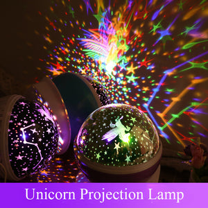 Gifts for Kids Lightme Stars Starry Sky LED Night Light Projector Galaxy Projector Romantic Colorful Bedroom Night Light