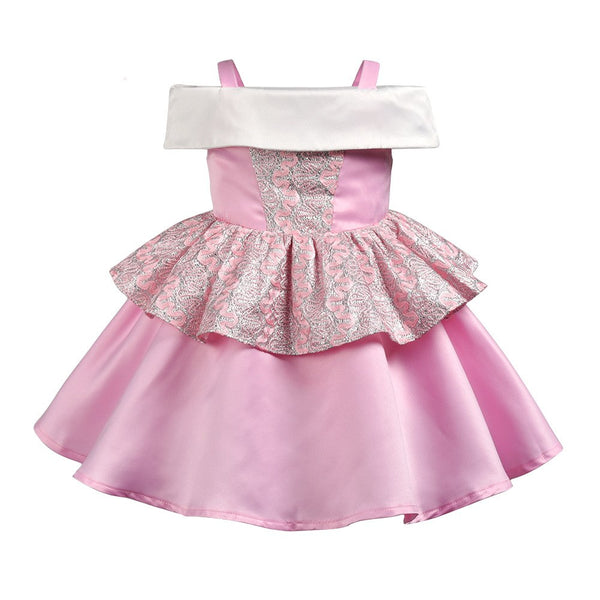 Girls Birthday Party robe Formal Dress Princess Dresses Christening Evening Dress fantasia bebes halloween Clothing Costume 6yrs - thefashionique