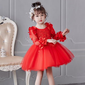 Girls Dress Summer Formal Dress For Girls Kids Clothes Flower Girls Dress Pageant Birthday Party Princess Dress Girl Clothes