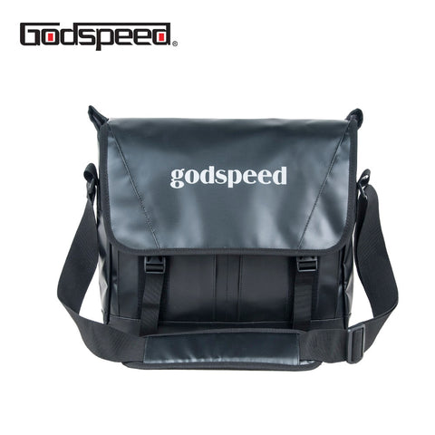 Godspeed pvc tarpaulin messenger bag waterproof fashion shoulder bag multi - functional sling business bag for men - thefashionique