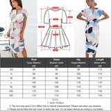 Gogoyouth Plus size Summer Dress Women 2018 Short Sleeve Patchwork Big Sundress Tunic Beach Party Dress Midi Long Robe Femme - thefashionique