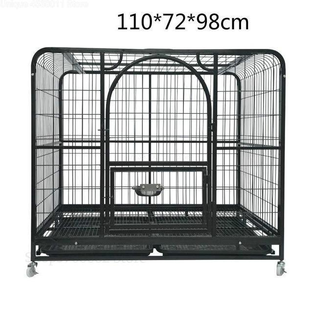 Golden Retriever Dog Cage with Toilet Indoor Large Space Dog Cage Villa Dog Fence Door Large Dog Pet Fence Cage