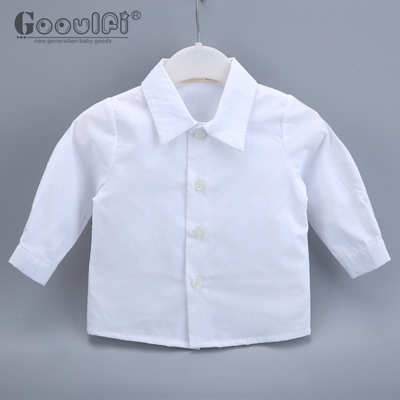 Gooulfi Baby Boys Clothing Sets Baptism Baby Boy 6 Pcs Clothes Newborn Clothes Boy 0-3 Gentelman Christening Baby Boy Clothes - thefashionique