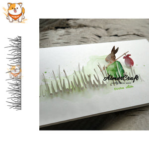 Grass Lawn Plant Metal Cutting Dies Scrapbooking Stencil for DIY Paper Card Decorative Embossing Die Cut Craft Dies New 2019 - thefashionique