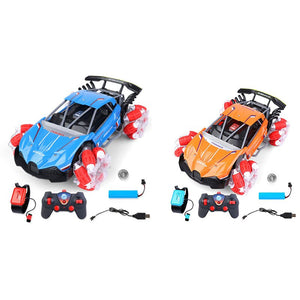 2.4Ghz Remote Climbing Control Stunt Car Gesture Sensing Twisting Off-Road Vehicle Light Drift Dancing Side Car