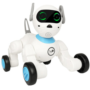 AI programming intelligent bionic robot dog children accompany early education singing dance learning entertainment