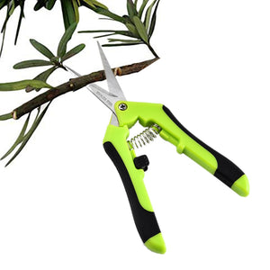 Multifunctional Garden Pruning Shears Fruit Picking Scissors Trim Weed Household Potted Branches Small Scissors Gardening Tools