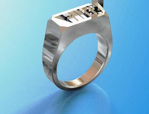Titanium Steel Self-defense Ring Molded In One Body High Strength Self-Defense Tool Gift To Boy Girl Friend To Keep Them Safe