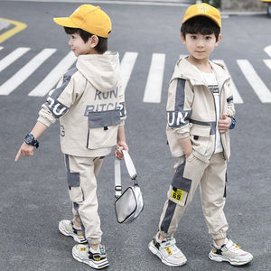 Baby Boy Girls Clothes Set Outfits Spring Herf Casual Boys Sports Clothing Training Packages For Kid Clothing