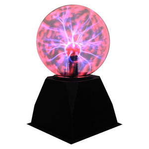 Magic Plasma Ball Sound Controlled LED Night Light USB Static Ball Crystal Lightning Ball Plasma Light For Home Decorations