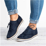 HEE GRAND Rubber Brogue Shoes Woman Platform Oxfords British Style Creepers Cut-Outs Flat Casual Women Shoes 5 Colors XWD6990 - thefashionique