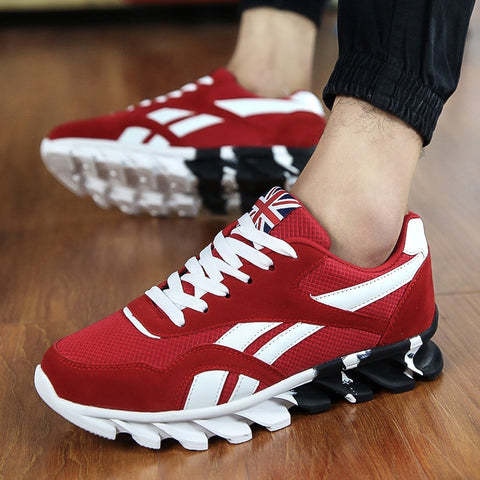 HEINRICH Spring Autumn Men Casual Shoes Breathable Mesh Trainers Sneakers Men Non-Slip Man Shoes Buty Sportowe Men Herren Schuhe - thefashionique