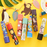 1pc random Cartoon Toddler Sensory 3D Kaleidoscope Colorful World Magic Festive Party Supplies Party Favors Children Gifts